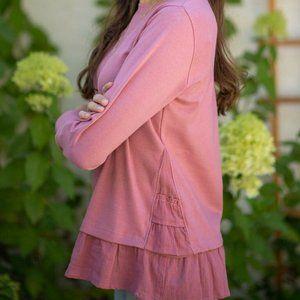 Evy's Tree The Kristine Blushed Rose Sweatshirt